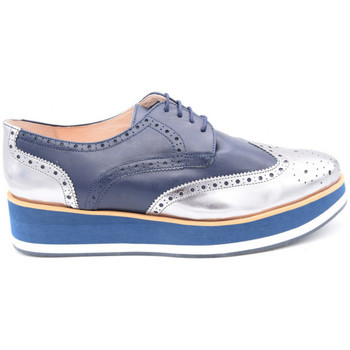 Chaussures Femme Derbies We Do c022187b bleu