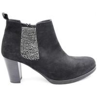 Chaussures Femme Boots Reqin's clark peau Noir