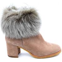 Chaussures Femme Boots Pedro Miralles 21315 Beige