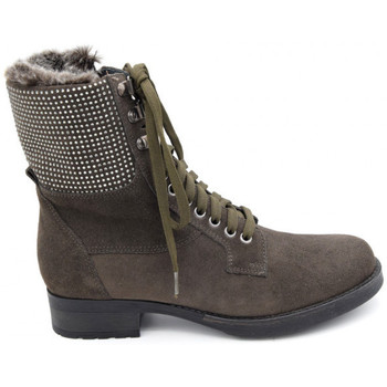 Chaussures Femme Boots Reqin's tulsa Gris