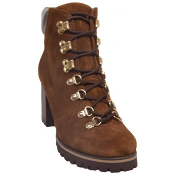 Chaussures Femme Bottines Pedro Miralles 24930 Marron