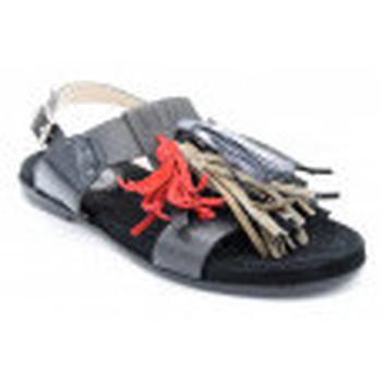 Chaussures Femme Sandales et Nu-pieds Triver Flight 960-37b Noir