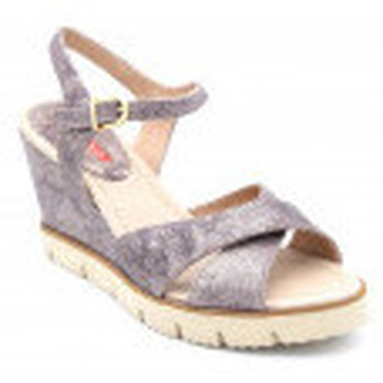 Chaussures Femme Sandales et Nu-pieds Weekend 8279 Argenté