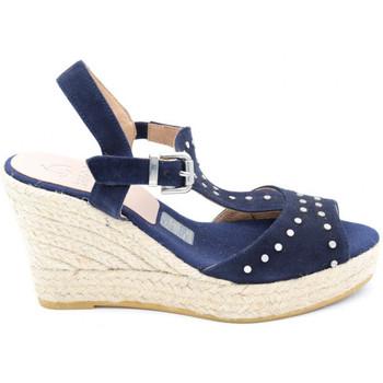 Chaussures Femme Espadrilles Kanna kv8126 bleu