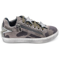 Chaussures Fille Baskets basses Reqin's sportif spencer army vert