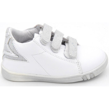Chaussures Fille Baskets basses Bellamy spot blanc