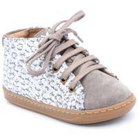 Chaussures Fille Boots Shoo Pom bouba geek Gris