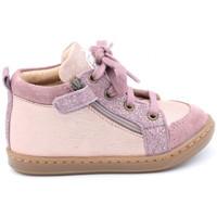 Chaussures Fille Boots Shoo Pom bouba bi zip w Rose