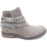 Chaussures Fille Boots Reqin's korona peau Beige