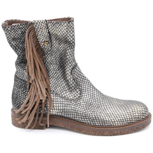 Chaussures Fille Boots Stones And Bones binna Doré