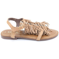 Chaussures Fille Sandales et Nu-pieds Reqin's kylie tong Beige