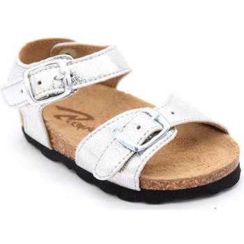 Chaussures Fille Sandales et Nu-pieds Reqin's oasis asti Argenté