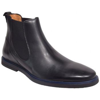 Chaussures Homme Boots Pellet teddy h18 Noir