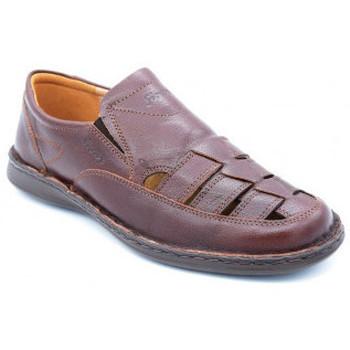 Chaussures Homme Sandales et Nu-pieds Sioux elbego Marron