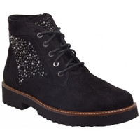 Chaussures Femme Boots Mephisto sibile Noir