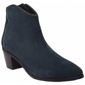 Chaussures Femme Bottines Kanna 18ki7793 bleu