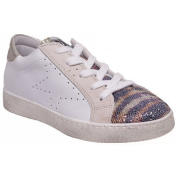 Chaussures Fille Baskets basses Semerdjian epoch vs8 blanc