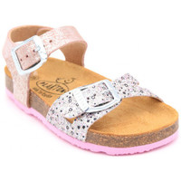 Chaussures Fille Sandales et Nu-pieds Plakton lisa Rose