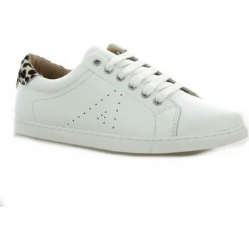 Chaussures Femme Baskets basses So Send Baskets cuir Blanc/dalmatien