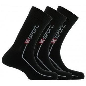 Accessoires textile Homme Chaussettes Kindy Pack de 3 paires de chaussettes K-sport Noir