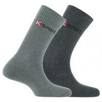 Accessoires textile Homme Chaussettes Kindy Pack de 2 paires de chaussettes  K-sport Gris