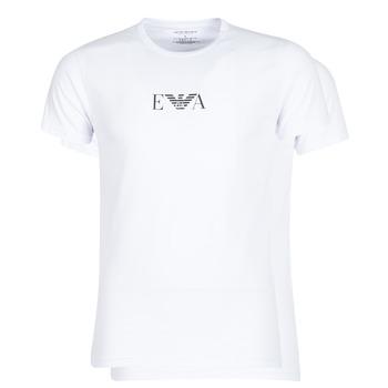 Vêtements Homme T-shirts manches courtes Emporio Armani CC715-111267-04712 Blanc