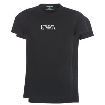Vêtements Homme T-shirts manches courtes Emporio Armani CC715-111267-07320 Noir