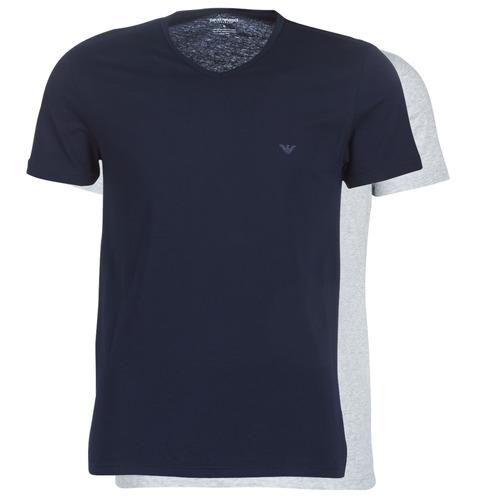 Manches Courtes Cc722 Emporio 111648 MarineGris shirts Homme 15935 Armani T QstrCxhdB