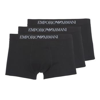Vêtements Homme Boxers Emporio Armani CC722-111610-21320 Noir