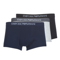 Sous-vêtements Homme Boxers Emporio Armani CC722-111610-94235 Marine / Gris / Noir