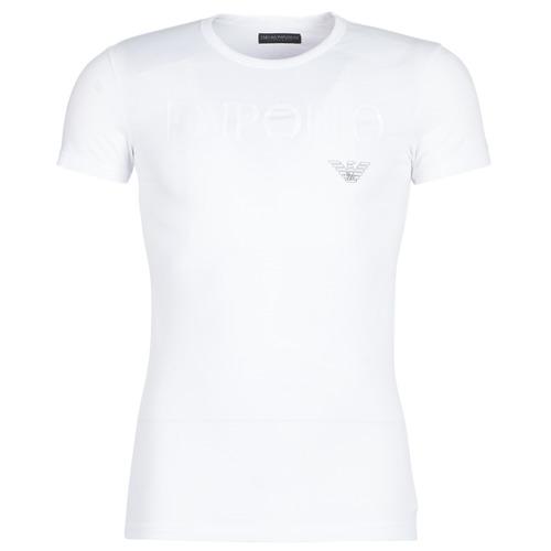 Vêtements Homme T-shirts manches courtes Emporio Armani CC716-111035-00010 Blanc