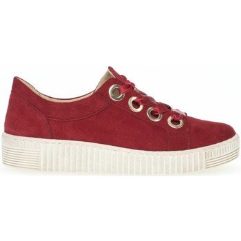 Chaussures Femme Baskets basses Gabor Sneakers Rouge
