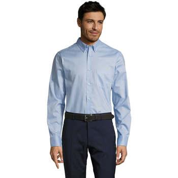 Vêtements Homme Chemises manches longues Sols BUSSINES MODERN MEN Azul