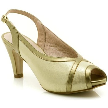 Chaussures Femme Sandales et Nu-pieds Paco Román 19501 Or