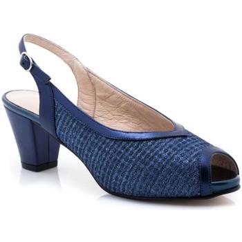 Chaussures Femme Sandales et Nu-pieds Paco Román 19502 bleu