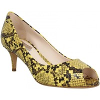 Chaussures Femme Escarpins Atelier Mercadal 7020 python Femme Jaune Jaune