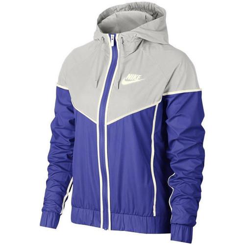 Vêtements Femme Vestes de survêtement Nike Veste de Bleu