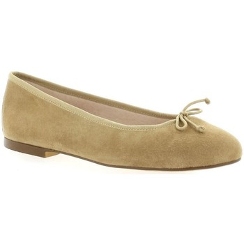Chaussures Femme Ballerines / babies Exit Ballerines cuir velours Taupe