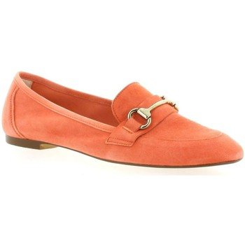 Chaussures Femme Mocassins Exit Mocassins cuir velours Orange
