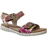 Chaussures Femme Sandales et Nu-pieds Laura Vita Dobby 03 Rose/jaune