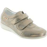 Chaussures Femme Mocassins Mobils By Mephisto JENNA Taupe cuir