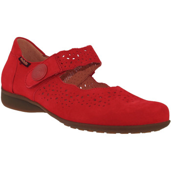 Chaussures Femme Ballerines / babies Mobils By Mephisto FABIENNE Rouge nubuck