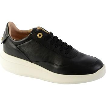 Chaussures Femme Baskets basses Geox Basket D Rubidia A - NAPPA Noir
