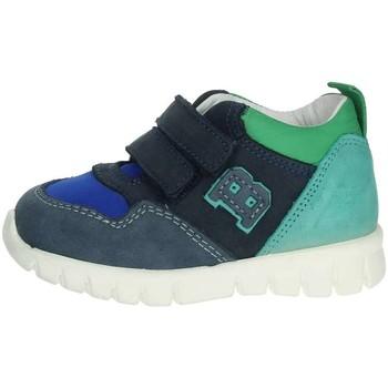 Chaussures Enfant Baskets montantes Balducci CSPORT3305 Bleu/Vert