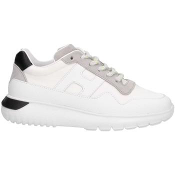 Chaussures Enfant Baskets basses Hogan HXC3710AP30KY688E Basket Enfant Blanc / Noir Blanc / Noir