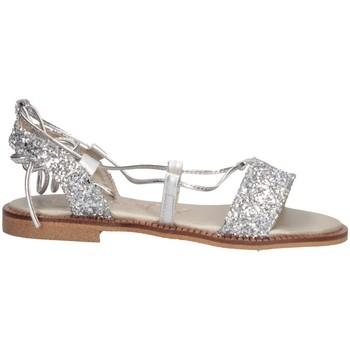 Chaussures Fille Sandales et Nu-pieds Papanatas 8646W GLIT.ARGENTO argent