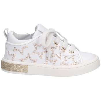 Chaussures Fille Baskets basses Romagnoli 3360-126 BIANCO Basket Enfant blanc blanc