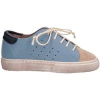 Chaussures Enfant Baskets basses Pe'pe' 00763/BL/DOL/SCSF Celeste