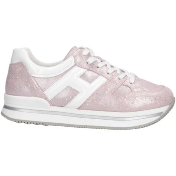 Chaussures Fille Baskets basses Hogan HXC2220T548KIW394E Rosa
