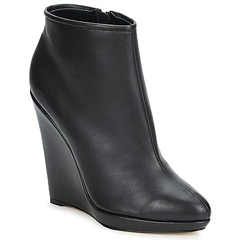 Bottines / Low boots Bourne AGATHA Noir 350x350